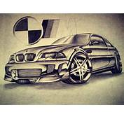 BMW M3 E46 Drawing By VTahLick On DeviantArt