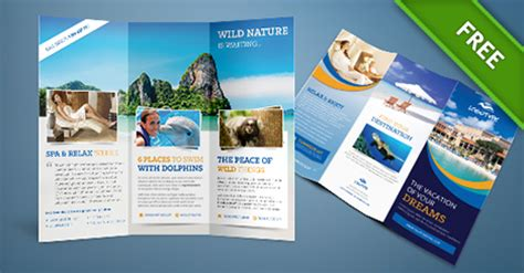 free psd travel brochure free psd files