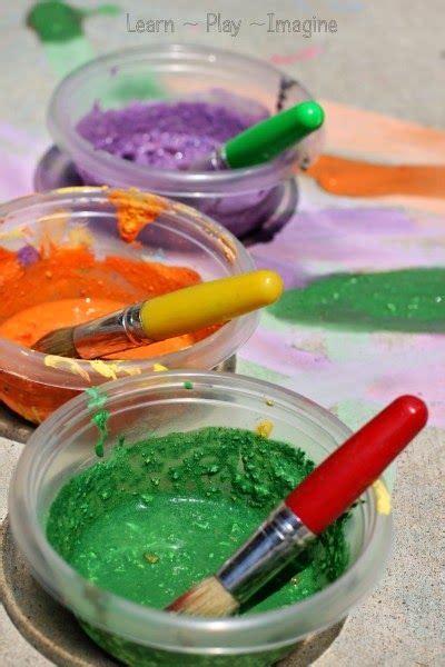 diy chalk paint using cornstarch how to make sidewalk chalk paint a new cornstarch free