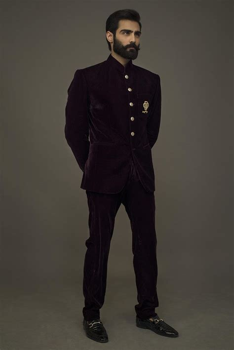 Traditional Style Home by Maroon Velvet Prince Coat Pant
