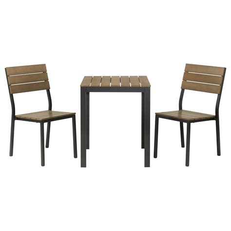 Ikea Bistro Table And Chairs Get A Spot In Your Garden Or Patio By Decorating An Ikea Bistro Set Homesfeed