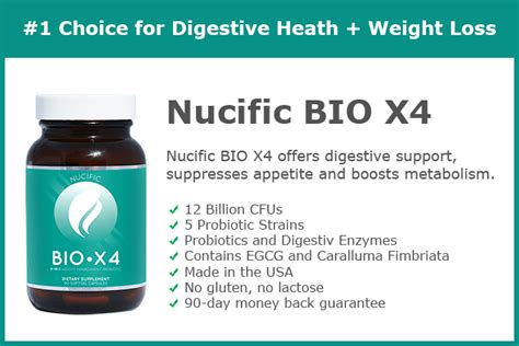 4 weight loss helpers bio x4 maintains your digestive health a must use