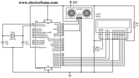 hc sr04 ultrasonic distance sensor datasheet interfacing hc sr04 ultrasonic sensor with pic microcontroller