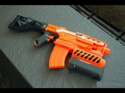 [review ] nerf elite demolisher 2 in 1 unboxing, review