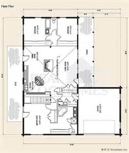 ranch style log home floor plans the lakeland log home floor plans nh custom log homes