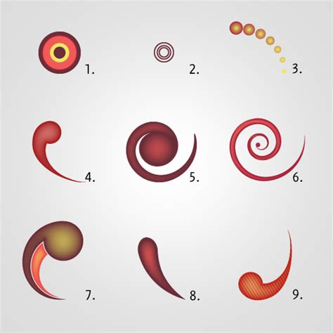 tutorial swirl illustrator how to create funny swirls in illustrator