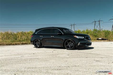 acura stance stance acura mdx 2018 side