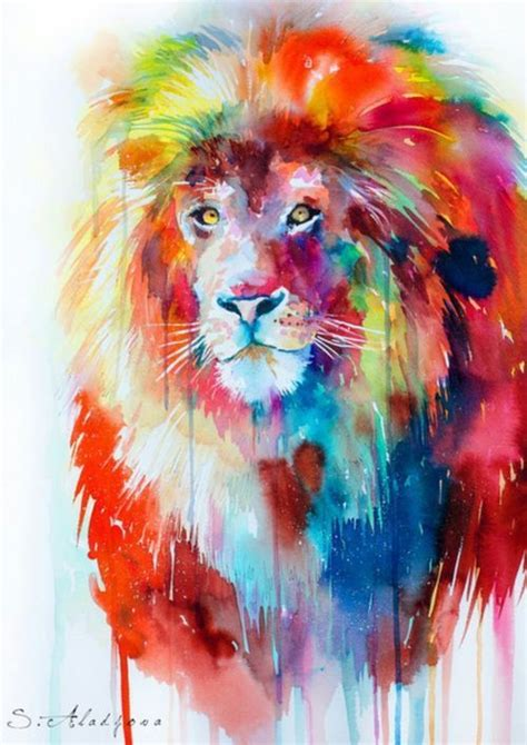 lions colors rainbow inspiration amazing