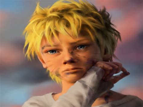image naruto anime boy blonde art sad hd wallpaper