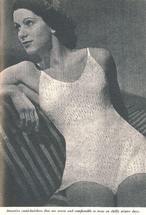 vintage knickers pattern the vintage pattern files 1940 s knitting cami knickers