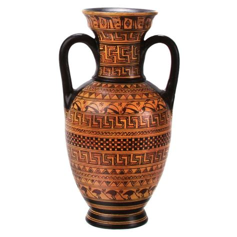 Ancient Vase Patterns by Vase Hora Replica 6 1 2 Quot H The Getty Store