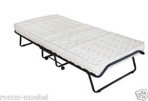 klappbare matratze 140x200 g 228 stebett klappbett mit matratze 80 x 200 cm inkl staubh 252 lle