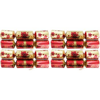 premium gold christmas crackers pack of 8 christmas