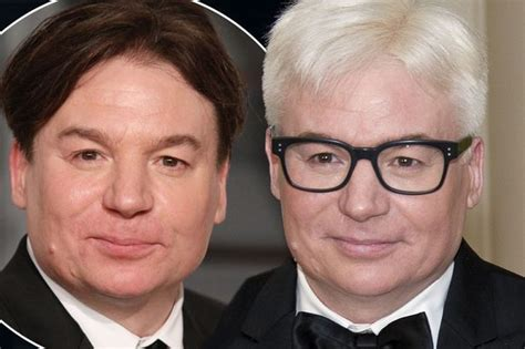 mike myers grey austin powers has gone grey actor mike myers sports