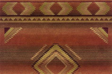 new mexico rugs orange new mexico southwest rug woodwaves