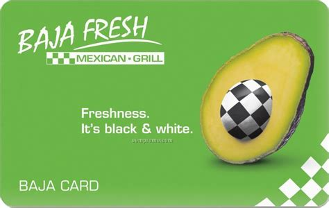 Baja Fresh Gift Card - gift cards china wholesale gift cards page 41