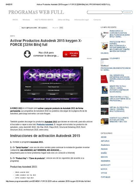 xforce keygen autocad 2017 para mac