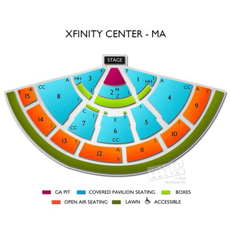 xfinity center seating xfinity center tickets xfinity center mansfield tickets