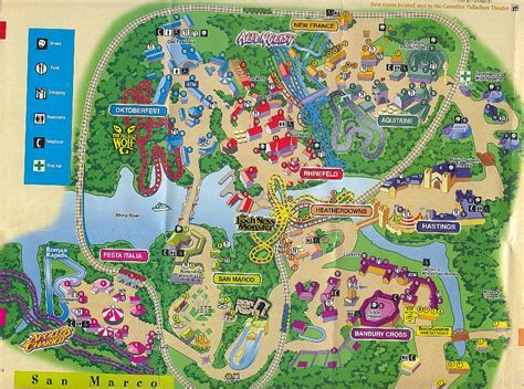 Busch Gardens Park Map by This Roller Coaster Was Truly One Of A Here S Why It