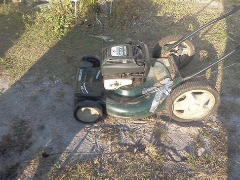 lawnmower boat motor homemade lawn mower outboard boat motor boating fun