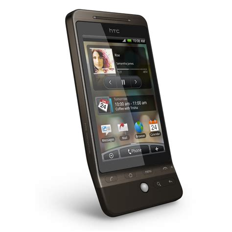 htc hub old version app for android htc hero comes to us via at t