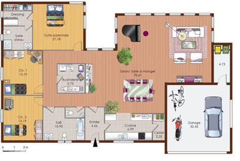 Jeux De Construction De Villa 2779 by Une Maison En Ossature Bois D 233 Du Plan De Une Maison