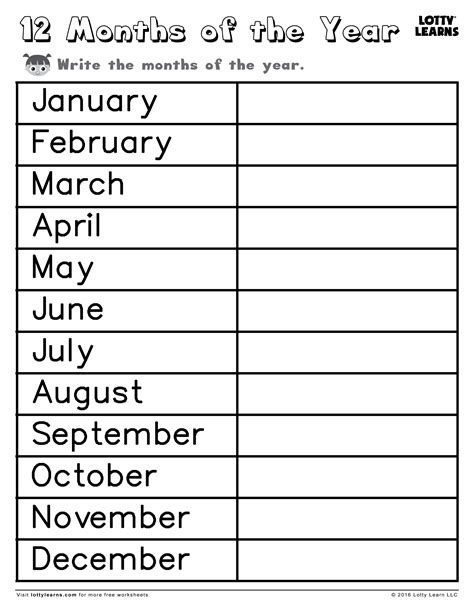 esl printable worksheets months of the year months of the year worksheets resultinfos