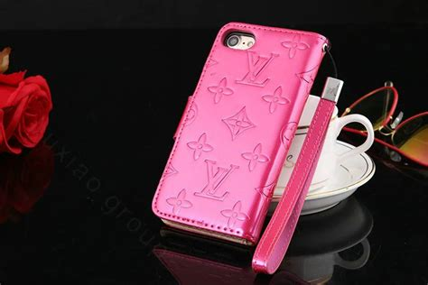 Flip Mirror Transparan Bening Book Cover Casing Iphone 6 55 Inch buy wholesale top mirror louis vuitton lv patent leather book flip holster cover for iphone