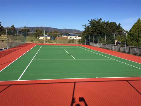 how to build a tennis court in your backyard tennis courts tasmania kingston hobart boz concreting