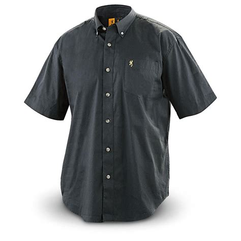 Browning Black Shirt browning wrinkle resistant sleeved twill shirt