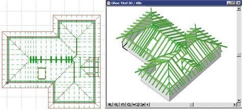 Beam Plans Erstellen Der Holzkonstruktion Im Dach Mit Roofmaker