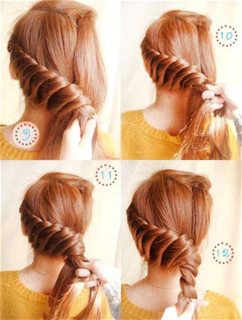 how to do the twist braid step by step elegant twist updo diy tutorial with step by step