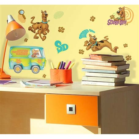 scooby doo wall stickers scooby doo removable wall decals wall2wall