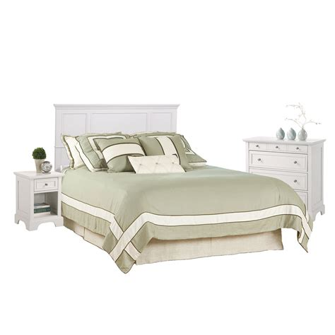 white bedroom sets queen naples white queen bedroom set home styles furniture