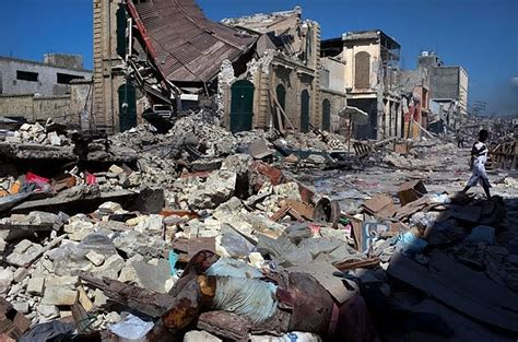 earthquake haiti haitian catastrophe raises spectre of earthquake weapon