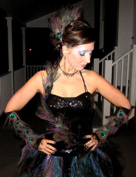 Handmade Peacock Costume - diy cirque du soleil peacock costume peacocks