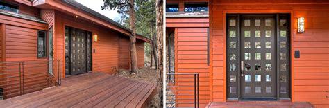 pocket front door contemporary home featuring interior pocket doors sun