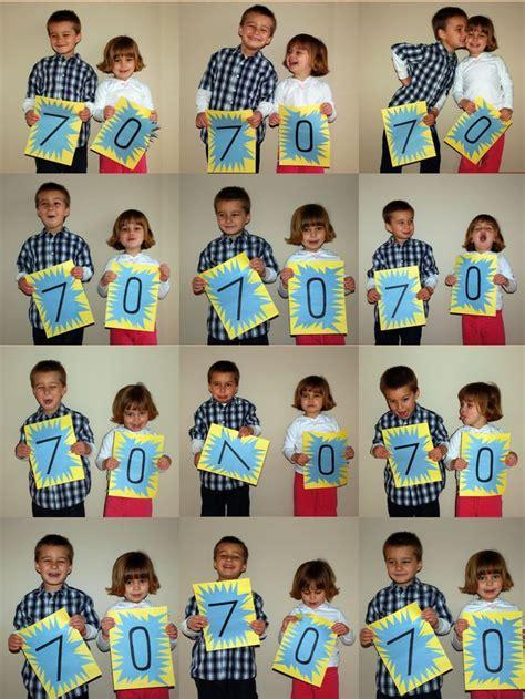 Milestone  Ee  Birthday Ee   Card Idea Make Numbers For Each Child