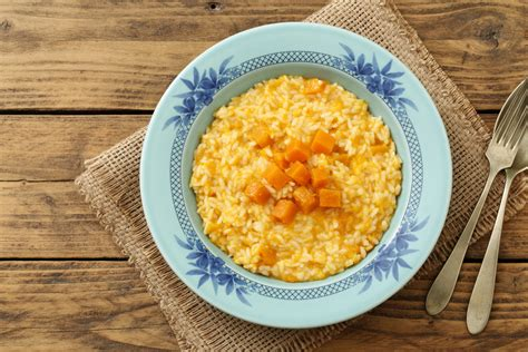 ricetta cucina italiana facile risotto alla zucca per principianti la ricetta facile per