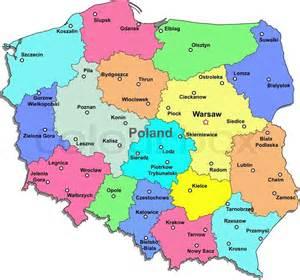 poland map vector poland map vector colourbox