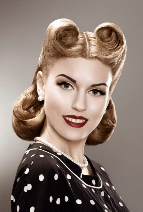 Hairstyles Of The 50s | 50s hairstyles short pin up hairstyles