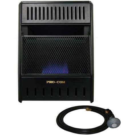 procom 14 in vent free propane heater ml100tbahr the