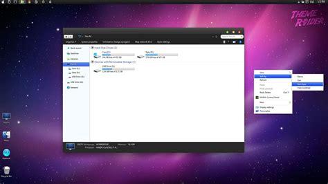 love themes windows 10 mac os x dark snow leopard windows 10 theme