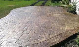 Decorative Cement Patio by Decorative Concrete Patios Minneapolis Stamped Concrete