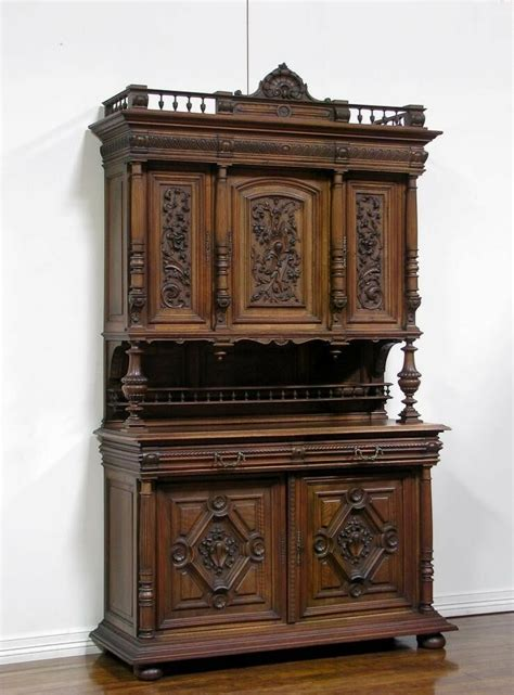 Sideboard Antique by 1106053 Antique Walnut Renaissance Carved Buffet
