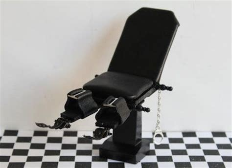 Handcuffed Chair by Dollhouse Furniture Dollhouses And Dangerous Minds On