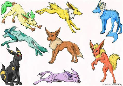 Pokemon Eevee Evolutions Cute   Games Info