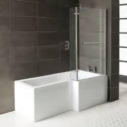 1500mm Shower Bath Matrix 1500mm Shower Bath Complete With Screen Baths