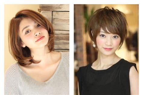 model rambut layer pendek  wajah bulat womantalk