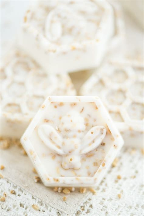 Handmade Oatmeal Soap - honey oatmeal soap